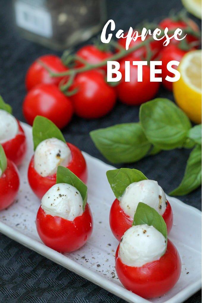 Caprese Bites Stuffed Tomato Recipe 4