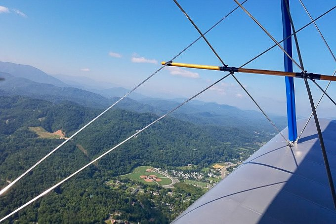 Sevierville Tennessee Ariel View Sky High Air Tours