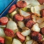 Smoked Sausage and Potato Recipe with Peppers