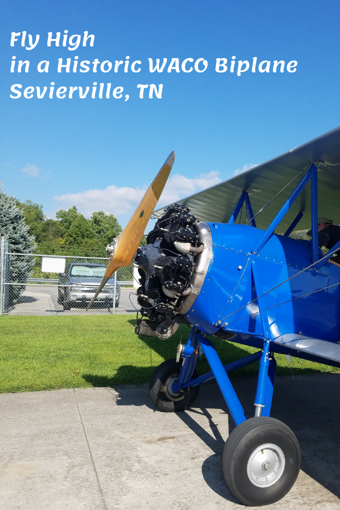 Fly High Historic WACO Biplane Sevierville, TN