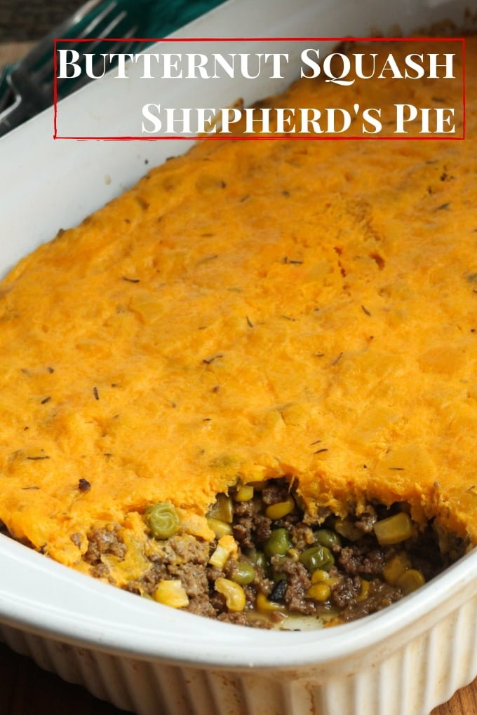 Butternut Squash Shepherd's Pie Recipe