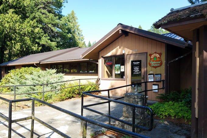 Historic Packwood Rangers Station