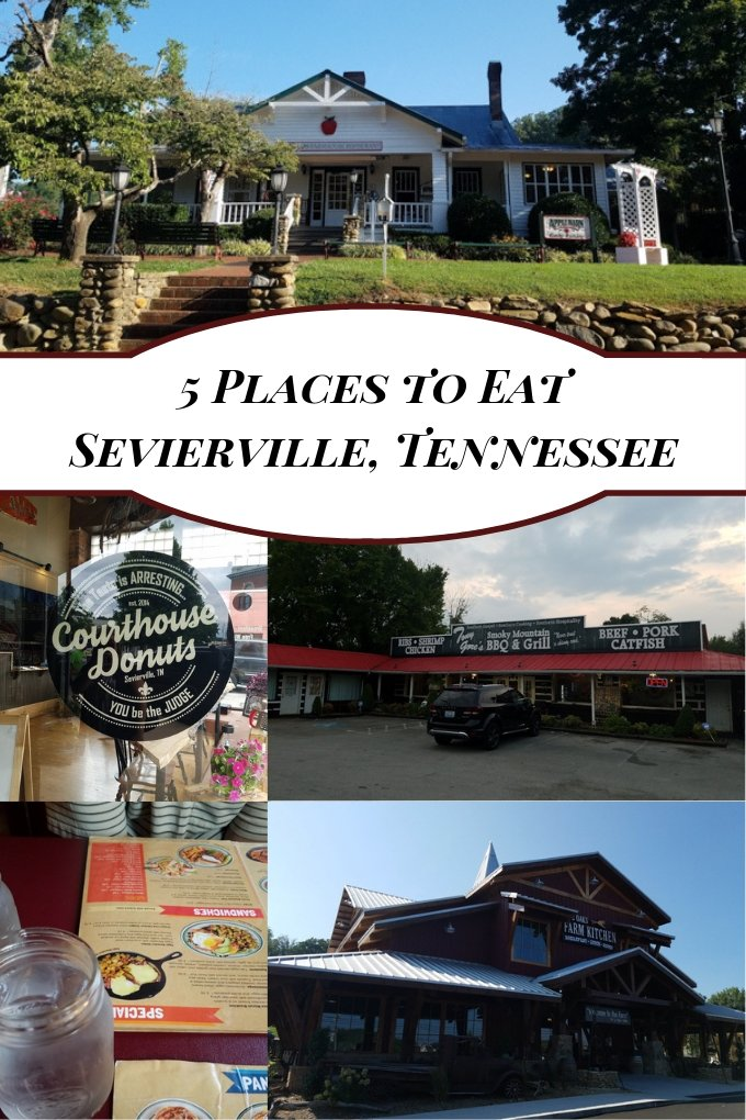 5 Places to Eat in Sevierville, Tennessee