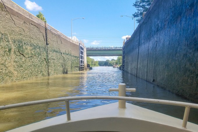 Erie Canal Lock Rochester NY