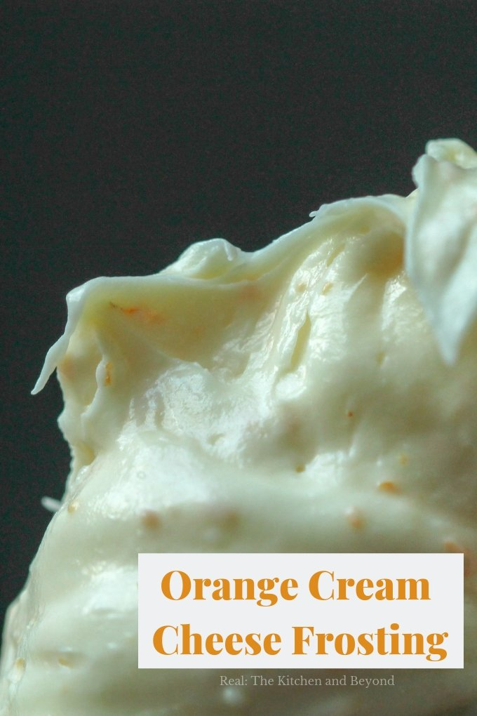 Homemade Orange Cream Cheese Frosting Recipe