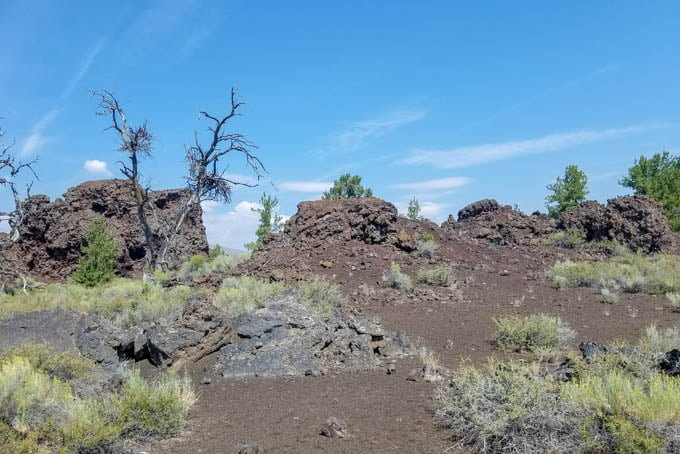 craters of moon idaho scenery