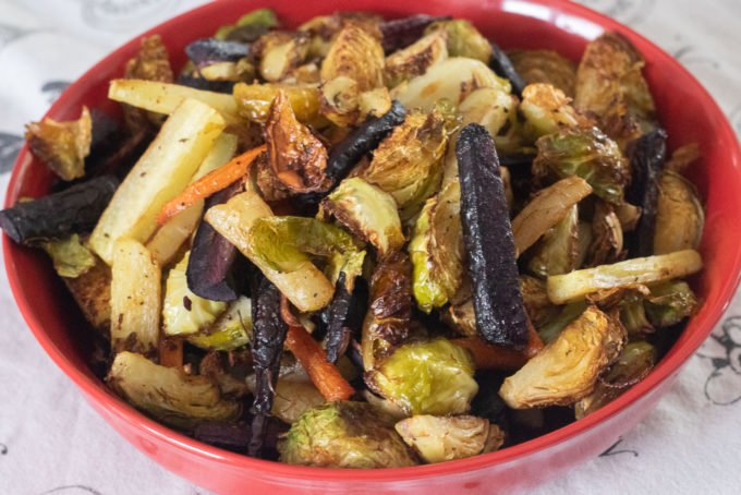 Mix-and-Match Oven Roasted Veggies