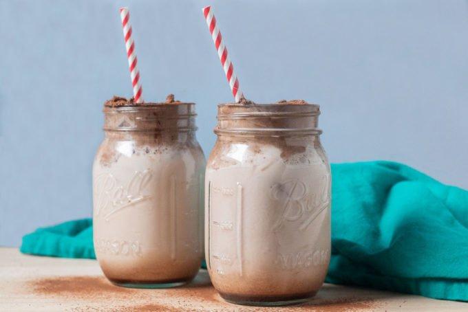 How to Make Whipped Chocolate Milk